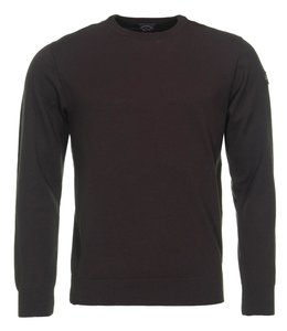 PAUL & SHARK COP1040 - 591 pullover ronde hals bruin
