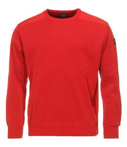 PAUL & SHARK COP1026 - 577 pullover ronde hals rood
