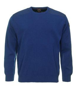 PAUL & SHARK COP1026 - 573 pullover ronde hals blauw