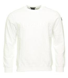 PAUL & SHARK Wit sweatshirt 1854 - 010