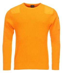 PAUL & SHARK 21411547 - 168 pullover ronde hals oranje