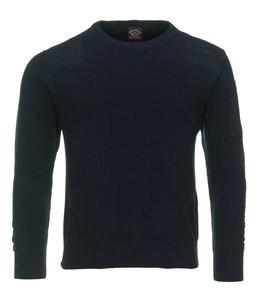 PAUL & SHARK 21411547 - 013 pullover ronde hals blauw
