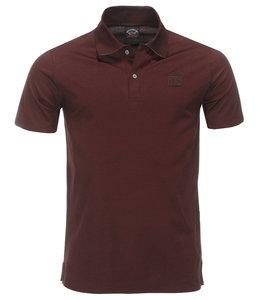 PAUL & SHARK 21411297 - 142 Poloshirt bordeaux rood