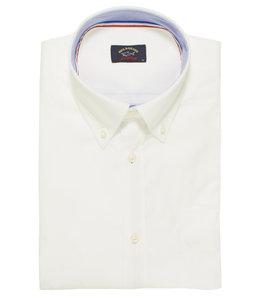 PAUL & SHARK 3003 - 010 overhemd korte mouw wit