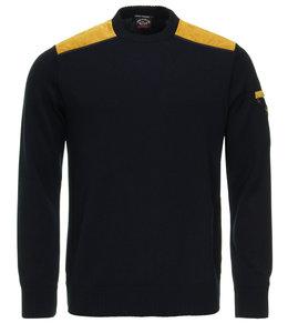 PAUL & SHARK Donkerblauwe pullover 11311022-050