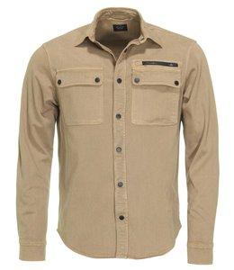 PAUL & SHARK Kaki bruin overshirt 11313139-650