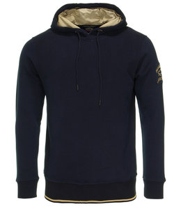 PAUL & SHARK Donkerblauwe hoodie 11311992-013