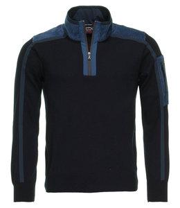 PAUL & SHARK Donkerblauwe pullover 11311155-050