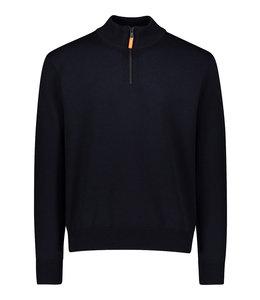 PAUL & SHARK Donkerblauwe pullover 11311163-050
