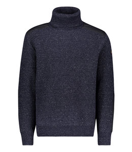 PAUL & SHARK Donkerblauwe pullover col 11311305-050