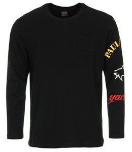 PAUL & SHARK Zwart t-shirt11311661-011