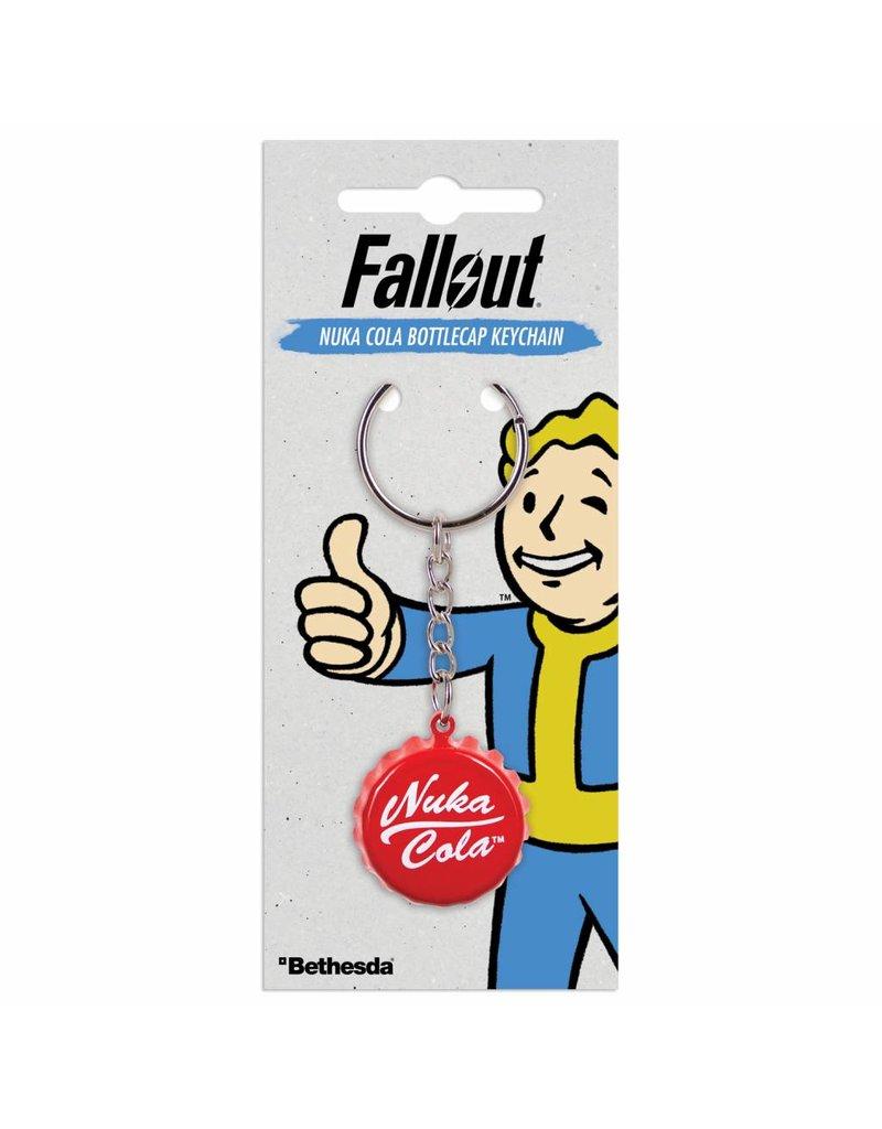 Fallout Keychain Nuka Cola Bottlecap