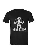 Fallout T-Shirt Vault Boy Nerd Rage
