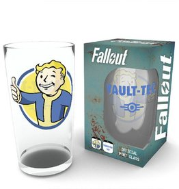 Fallout Pint GlassVault Boy