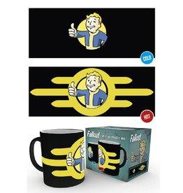 Fallout Thermoeffekt Tasse Vault Boy