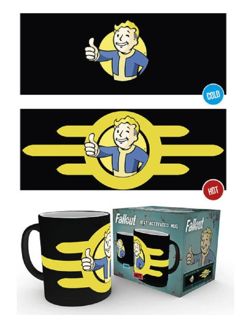 Fallout Thermoeffekt Tasse Nuka Cola