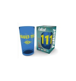 Fallout Pint Glass Vault 111