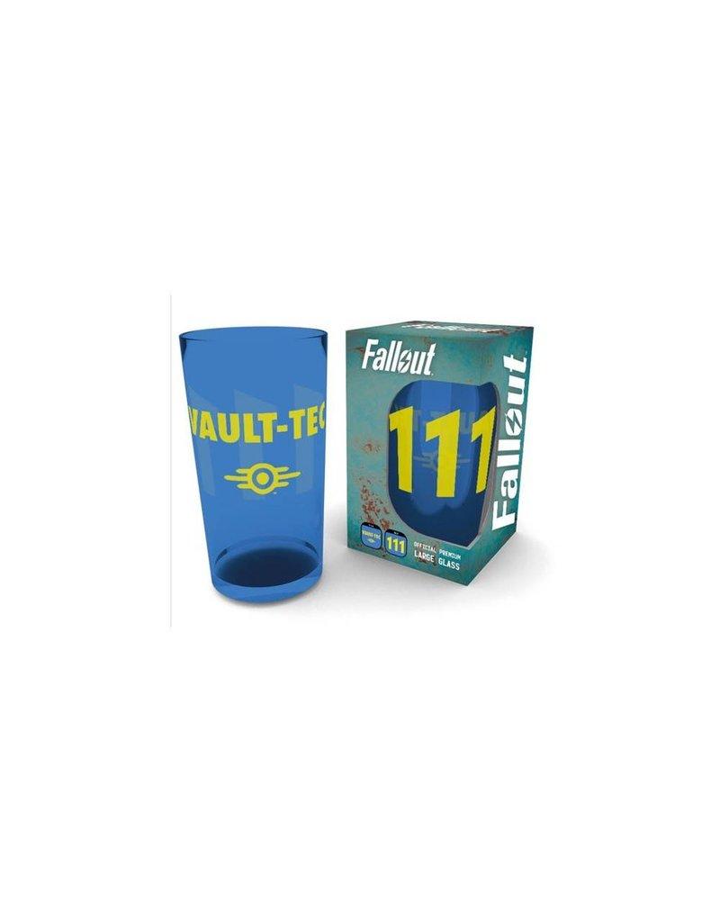 Fallout Pint Glass Vault 111