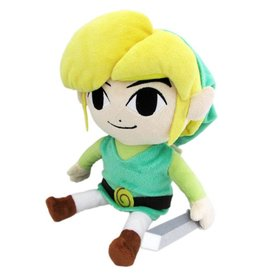 The Legend of Zelda Link Plüsch Figur 18cm