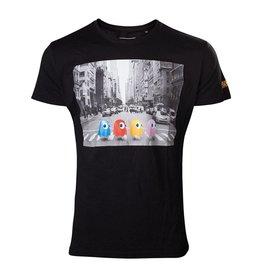 Nintendo Pac-Man T-Shirt Crossing Roads