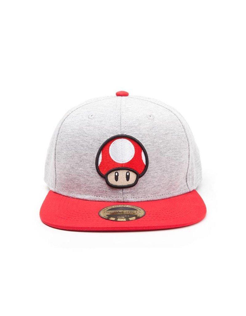Nintendo Basecap Mushroom Logo