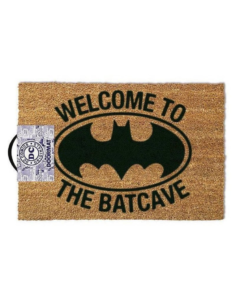 "DC Türmatte ""Welcome to the Batcave"" 40x60cm"