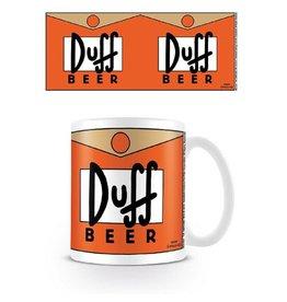 The Simpsons Mug Duff Beer