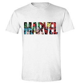 Marvel T-Shirt Logo Characters