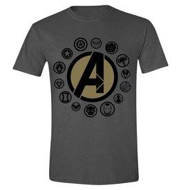 Marvel T-Shirt Avengers: Infinity War Charakter Logos