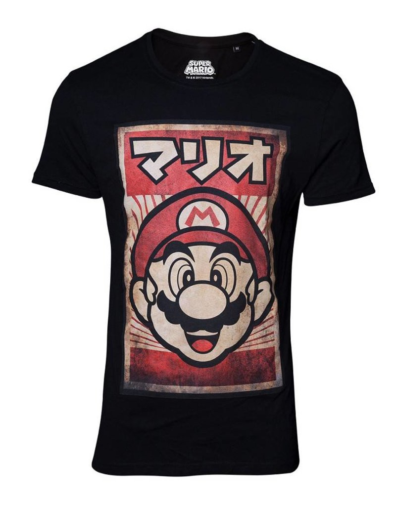 Nintendo T-Shirt Mario Poster