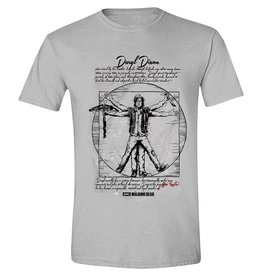 The Walking Dead T-Shirt Daryl Dixon Vitruvian