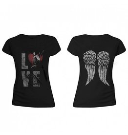 The Walking Dead Women T-Shirt Love Dixon Wings