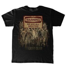 The Walking Dead T-Shirt Warning Sign