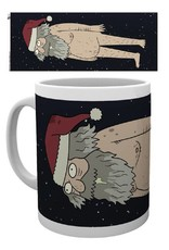 Rick and Morty Mug Christmas Ruben