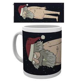 Rick and Morty Tasse Christmas Ruben