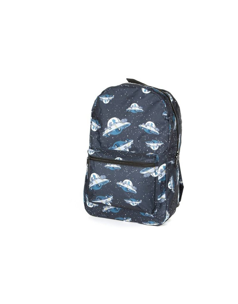 Rick and Morty Backpack UFO All Over
