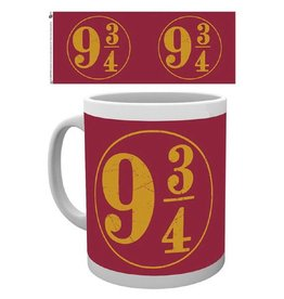 Harry Potter Tasse Plattform 9 3/4