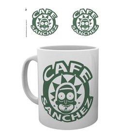 Rick and Morty Mug Café Sanchez