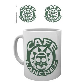 Rick and Morty Tasse Café Sanchez