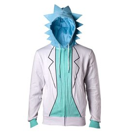 Rick and Morty Zip-Hoodie Rick Costume