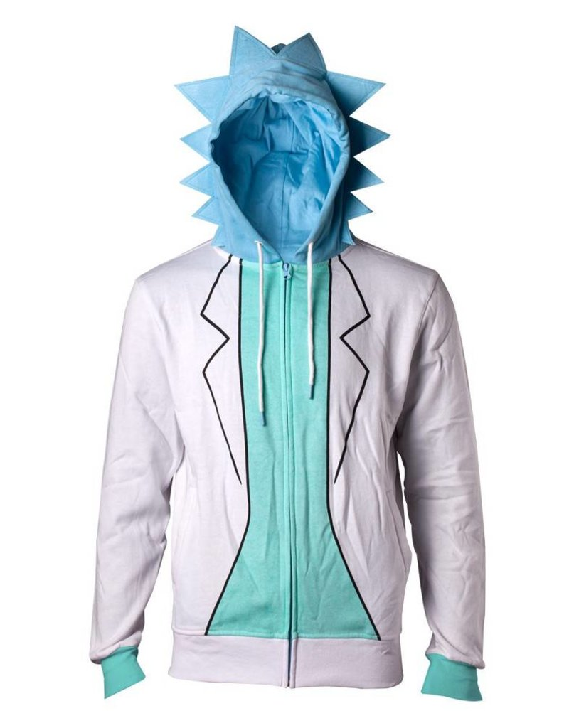 Rick and Morty Zip-Hoodie Rick Costume