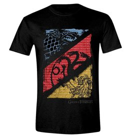 Game of Thrones T-Shirt Diagonale Siegel