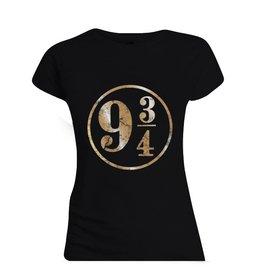 Harry Potter Damen T-Shirt Plattform 9 3/4