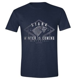 "Game of Thrones T-Shirt Stark ""Winter is Coming"""