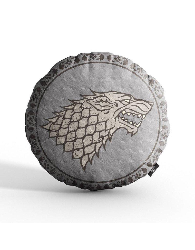 Game of Thrones Kissen Haus Stark Siegel