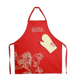 Game of Thrones Kitchen Apron Set Lannister