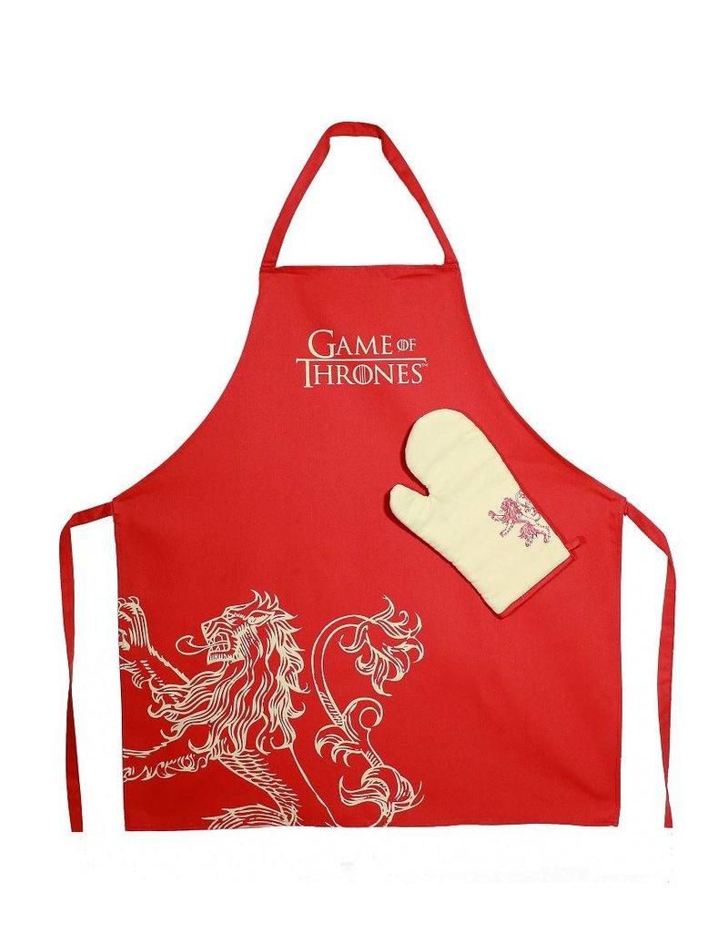 Game of Thrones Kochschürzen Set Lannister