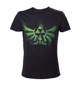 The Legend of Zelda T-Shirt Grünes Logo