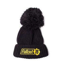 Fallout Bobble Beanie Fallout 76 Logo