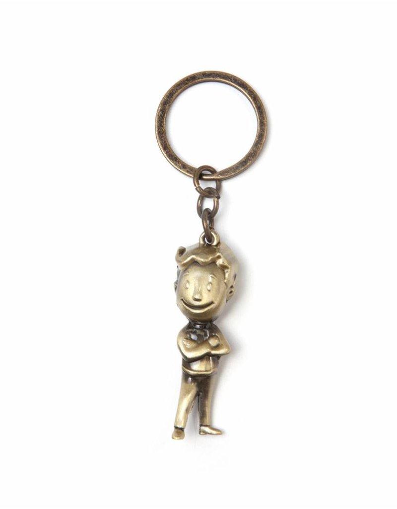 Fallout Schlüsselanhänger Golden Vault Boy 3D